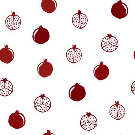Pomegranate. Vector. Vectores