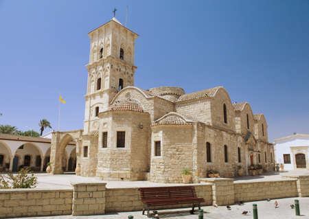 holy cross: Ayious Lazarus Church, Larnaca, Cyprus Stock Photo