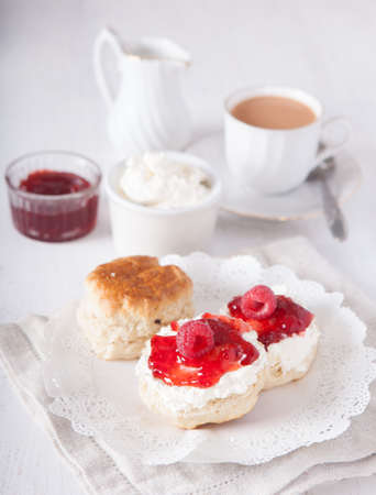 Traditioneel Engels cream tea