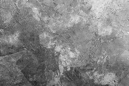 Grey concrete background texture, table top, overhead view