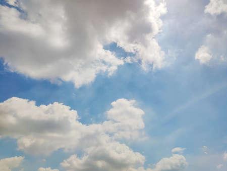 Blue sky and white clouds Reklamní fotografie