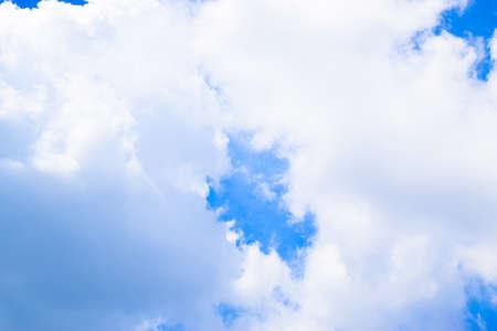 Blue sky and Clouds background Reklamní fotografie