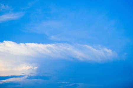 Beautiful blue sky and clouds background Reklamní fotografie
