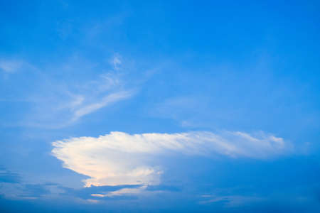 Blue sky and Clouds, sunrise and sunset Reklamní fotografie