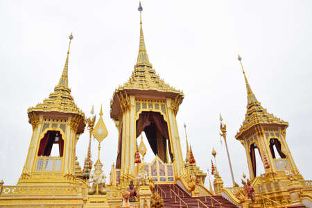 Thai architecture for the royal family 版權商用圖片