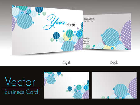 vector creative element design corporate business cards Stock Vector - 11895168