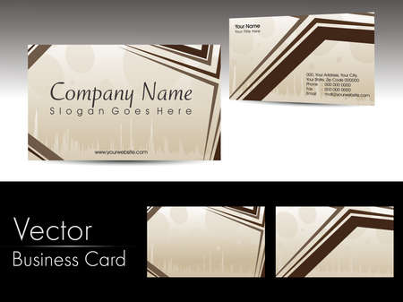 abstract artwork design vector corporate business cards Stock Vector - 11895156
