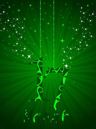 Vector illustratio of shamrocks for St. Patrick's Day. Stock Vector - 12487567