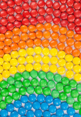 bonbon chocolat: Contexte de la sucrerie color�e de chocolat