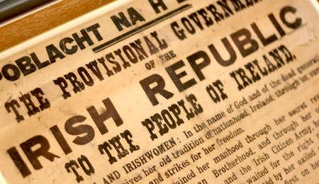 provisional: Ireland. Provisional Government of the Irish Republic