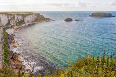 northern ireland: Seascape at The Carrick a rede in Northern Ireland