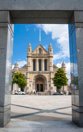 Saint Anne Cathedral in belfast, North Ireland 新闻类图片
