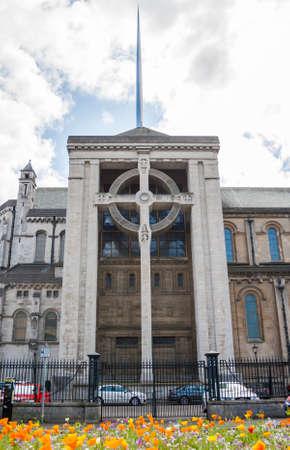 anne: Saint Anne Cathedral in belfast, North Ireland Editorial