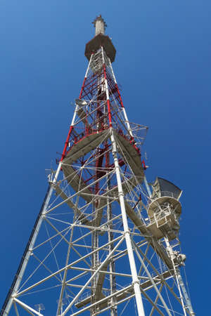 metal structure: metal antenna,tower,structure,signal transmission