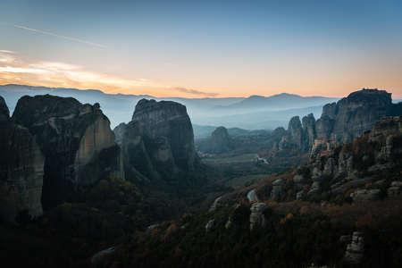 monasteri: monasteri greci sulle rocce di Meteora, Grecia