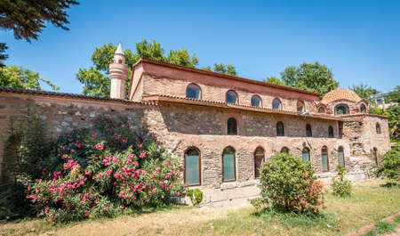Iznik, Turkey - July 23, 2016: Historical Ayasofya Orhan Mosque in Iznik, Turkey