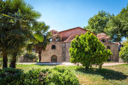 Iznik, Turkey - July 23, 2016: Aya Sofya also known as Hagia Sophia  is a Byzantine-era church building in Nicaea (now Iznik) in Turkey
