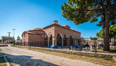 Iznik, Turkey - July 23, 2016: Archaeology Museum of Iznik in Turkey