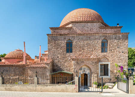 turkish bath: Iznik, Turkey - July 23, 2016: II Murat Turkish Bath or Hamam in Iznik, Turkey Editorial