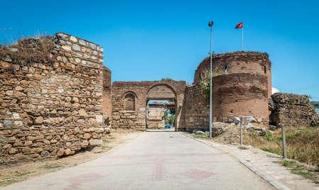 iznik: Yenisehir gate of Nicea Ancient City in Iznik, Turkey