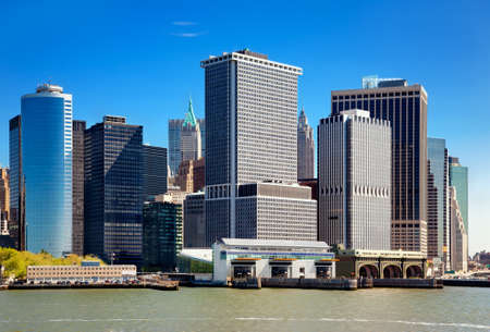 Lower Manhattan Skyline, New York City  Stock Photo