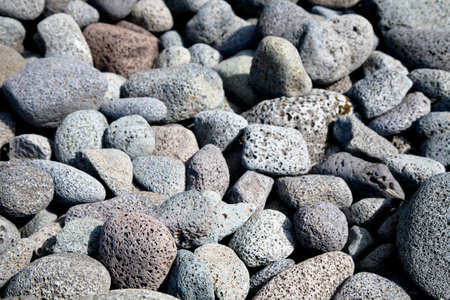 stone volcanic stones: Textured background of volcanic lava rocks