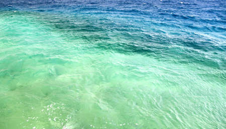 Multicolored sea photo
