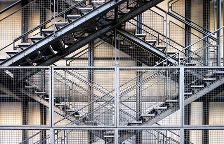 enclosures: Metal stairs