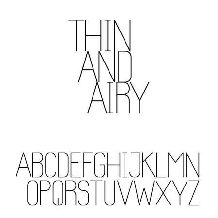 serif: Beautiful sans serif font set
