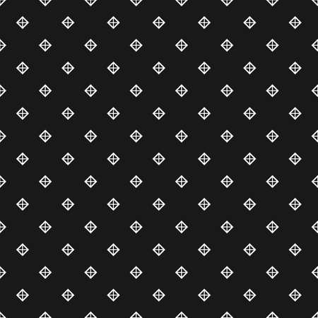 Diamonds seamless pattern in black and white