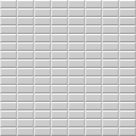grey pattern: Seamless pattern with grey rectangular tiles Illustration