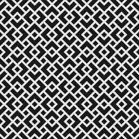 Geometrisches nahtloses Muster mit überlappenden Rauten