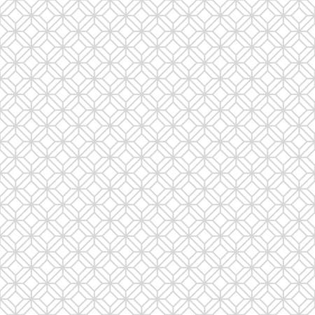Abstract monochrome seamless pattern in Asian style with rhombuses