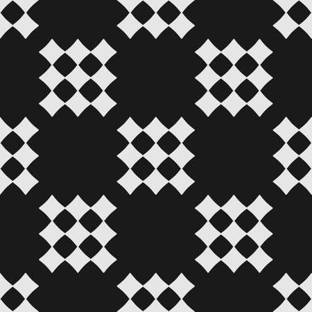 Abstract geometric seamless pattern with diamonds