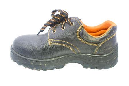 men s boot: Work Boot Stock Photo