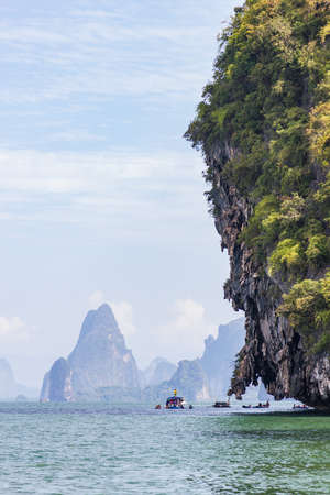 Nice islands of Phang Nga Bay near Phuket, Thailand