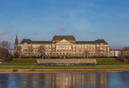Building of the Saxon State Ministry of Culture in Dresden, Germany