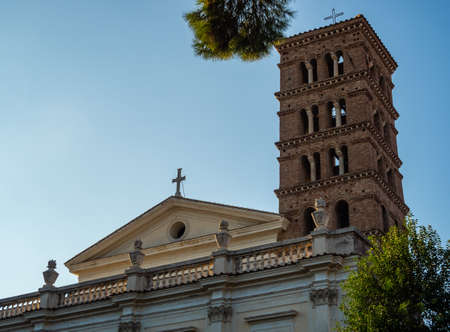 Basilica of Saints Boniface and Alexius in Rome, Italy