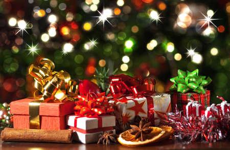 Vánoční dárky Reklamní fotografie