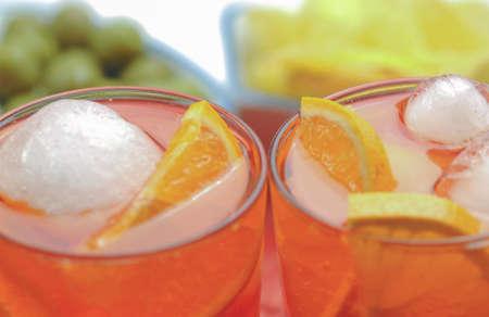 Happy hour  spritz aperitif