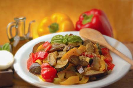 Sicilian caponata Stock Photo