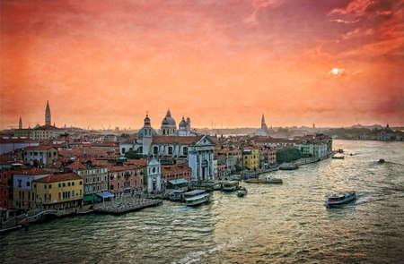 holiday maker: Venetian lagoon - Venice Italy Stock Photo
