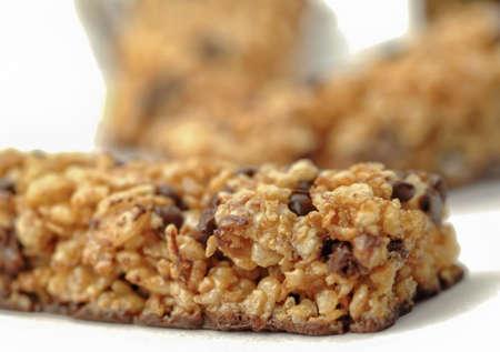 Closeup cereal bar photo