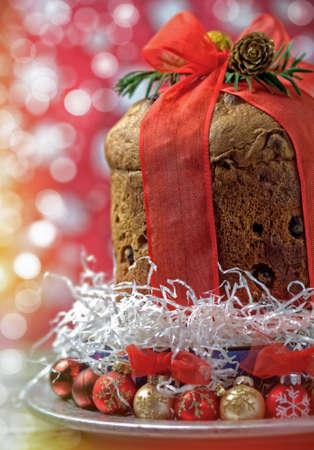 weihnachtskuchen: Panettone - italienischer Weihnachtskuchen
