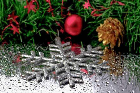christmas decorations: Colorful Christmas decorations
