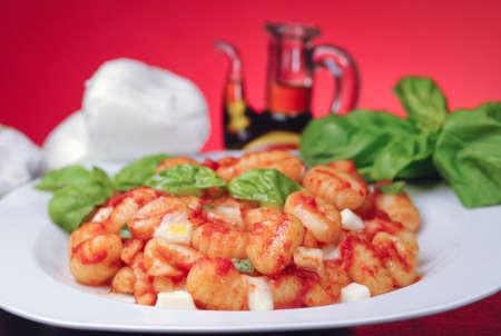 sorrento: Italian gnocchi Sorrento style