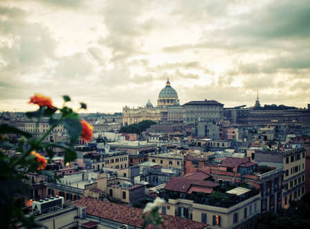 city view: View of Vatican City - Rome Italy