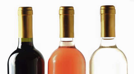 sauvignon blanc: Different wine bottles