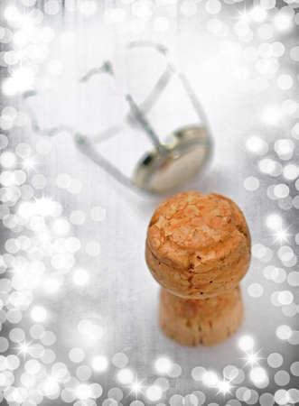 champagne cork: Champagne Cork Stock Photo