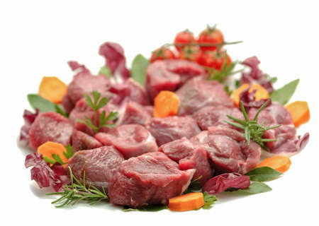 rosmarin: Chopped meat with fresh ingredients